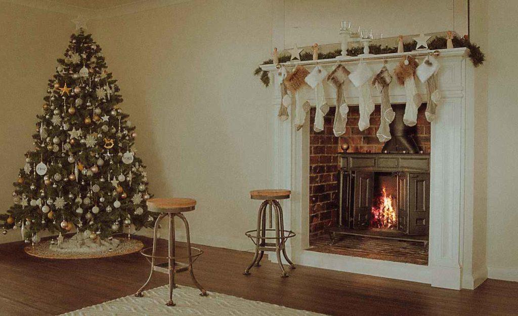 weihnachtsdeko selbst gemacht, adventsdeko selber basteln, einrichtungsideen