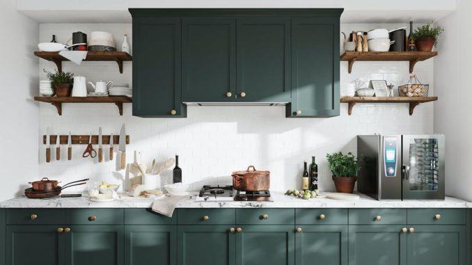 Glauben Sie nicht? Sie können kleine Küchen einrichten!