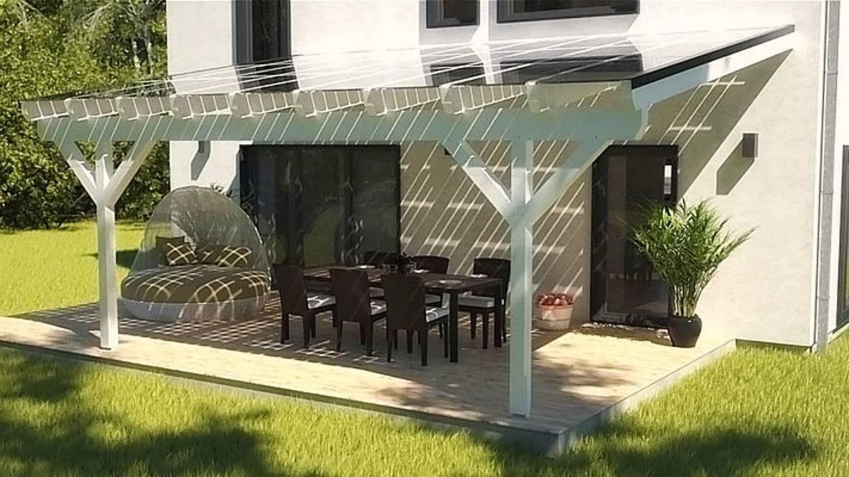 Terrasse gestalten, Ideen, Beleuchtung, Einrichtungsratgeber