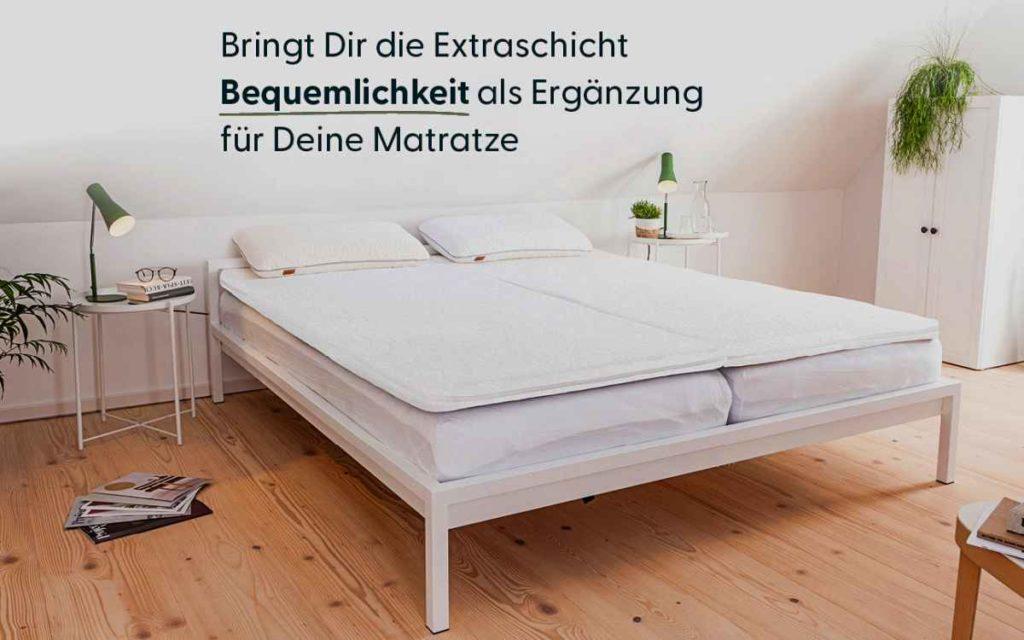 Baumwolle im Schlafzimmer, Einrichtungsratgeber, Möbel und design, topper
