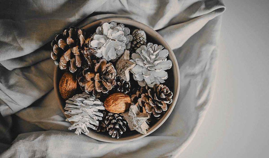 rustikale Weihnachtsdeko selber basteln,  Raumduft, Einrichtungsideen, Möbel und Design