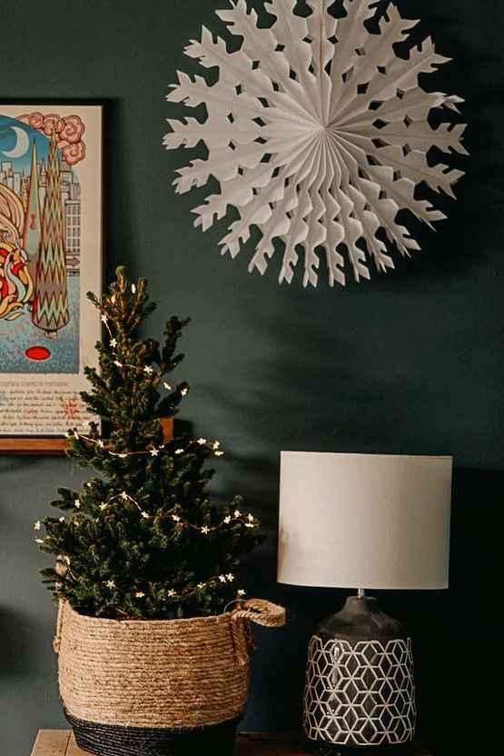 weihnachtsdeko selber basteln, weihnachtsstern mit licht, Möbel und design, einrichtungsideen
