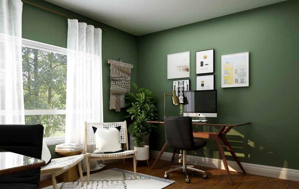 kleine Wohnung einrichten, Beispiele Wandgestaltung, Einrichtungsideen